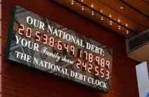 US National Debt en agosto de 2017